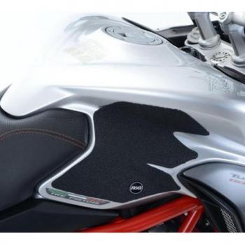 Kit grip de réservoir R&G RACING translucide (2 pièces) MV Agusta Turismo Veloce 800
