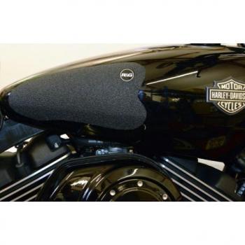 Kit grip de réservoir R&G RACING Eazi-Grip™ translucide (2 pièces) Harley Davidson Street 750
