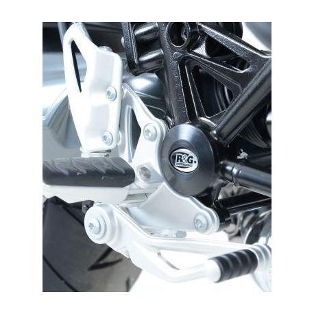 Insert de cadre R&G RACING noir droit BMW R1200 Nine-T