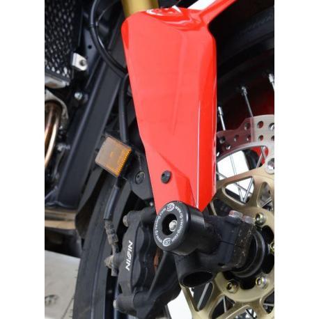 Protection de fourche R&G RACING noir Honda CRF1000L Africa Twin