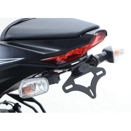 Support de plaque R&G RACING noir Kawasaki ZX10R