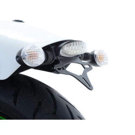 Support de plaque R&G RACING noir Kawasaki Vulcan S