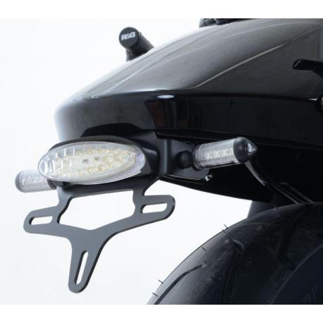 Support de plaque R&G RACING noir Harley Davidson Street 750