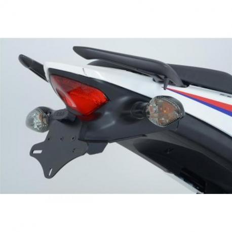 Support de plaque alu noir R&G RACING Honda CBR500R/CB500F