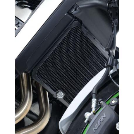 Protection de radiateur R&G RACING noir Kawasaki Vulcan S