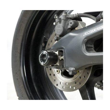 Protections de bras ocillant R&G RACING noir Honda CBR1000RR Fireblade