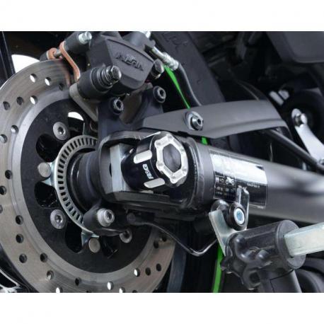 Protections de bras ocillant R&G RACING noir Kawasaki Vulcan S