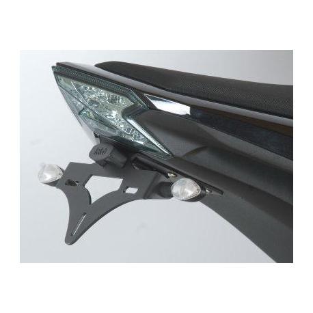 Support de plaque R&G RACING noir Kawasaki Z800/800E