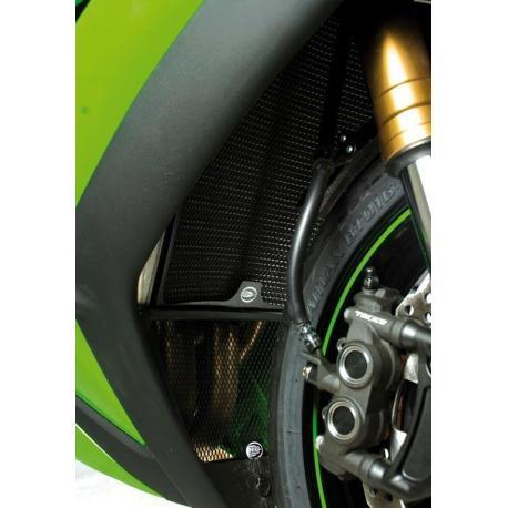 Protection de radiateur R&G RACING noir Kawasaki ZX-10R