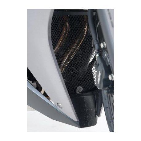 Grille de collecteur R&G RACING noire Honda CB500R/X/F