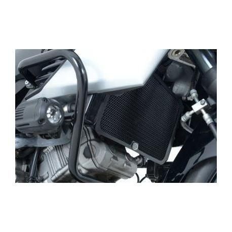 Protection de radiateur R&G RACING alu noir Suzuki V-Strom 1000