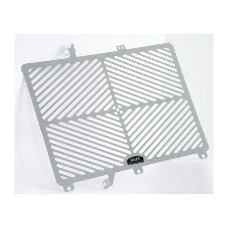 Protection de radiateur R&G RACING inox Kawasaki ER6-N/F