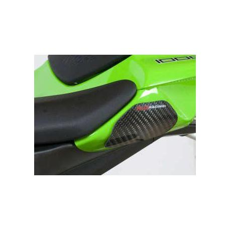 Sliders de coque arrière R&G RACING carbone Kawasaki ZX-10R
