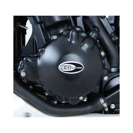 Couvre carter gauche R&G RACING noir Triumph Speed Triple RX