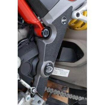 Adhésif anti-frottement R&G RACING cadre noir 3 pièces Ducati Multistrada 1200/1200 S