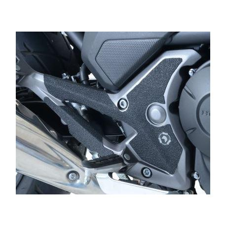 Adhésif anti-frottement R&G RACING platines repose-pieds noir 4 pièces Honda NC700S/700X/750S/750X