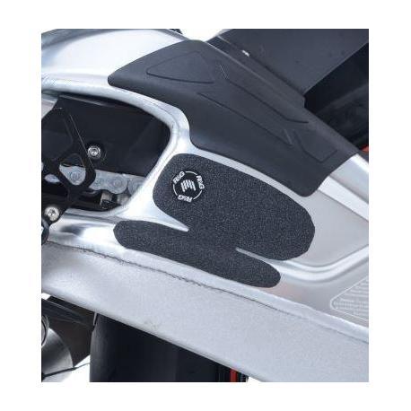 Adhésif anti-frottement R&G RACING bras oscillant noir 2 pièces BMW S 1000 R/RR