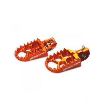 Repose-pieds SCAR Evo orange KTM/Husqvarna
