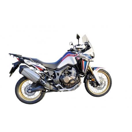 Protections latérales BIHR alu noir Honda Africa Twin CRF1000L