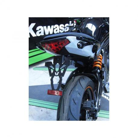 Support de plaque V PARTS noir Kawasaki ER6