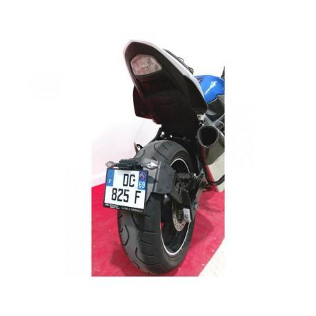 "Support de plaque ACCESS DESIGN ""ras de roue"" noir Suzuki GSR750"