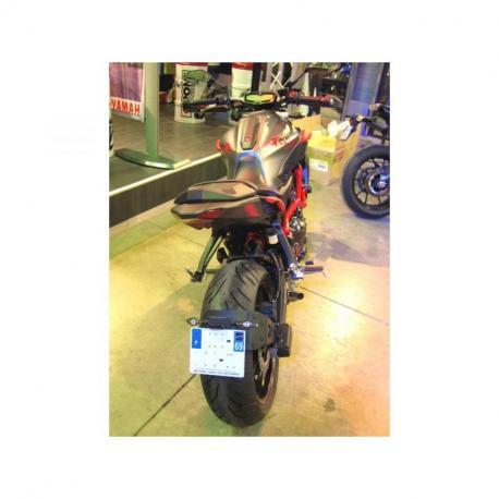 """Support de plaque ACCESS DESIGN """"ras de roue"""" noir Yamaha MT-07"""