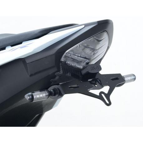 Support de plaque R&G RACING noir Honda CBR500R