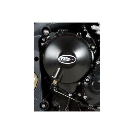 Couvre-carter droit (embrayage) R&G RACING noir Triumph Street Triple