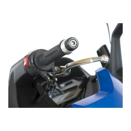 Embouts de guidon R&G RACING noir BMW C600S/C650GT
