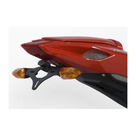 Support de plaque R&G RACING noir MV Agusta F3 675