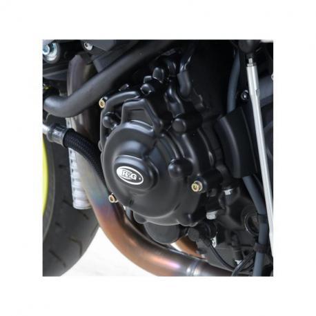 Couvre-carter gauche (alternateur) R&G RACING noir Yamaha MT-10