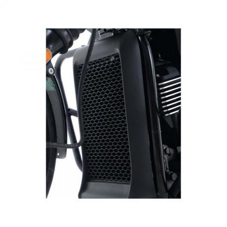 Protection de radiateur R&G RACING alu noir Harley Davidson Street 750