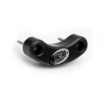 Slider moteur gauche R&G RACING noir Suzuki SV650N/S