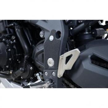 Adhésif anti-frottement R&G RACING cadre noir 2 pièces Triumph Tiger 1050 Sport