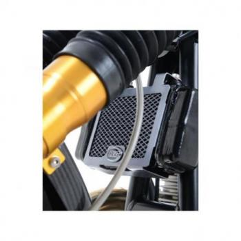 Protection de radiateur d'huile R&G RACING alu noir Norton Commando 961 Sport