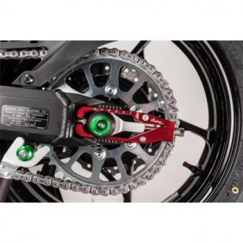 Tendeur de chaine LIGHTECH rouge Kawasaki Z900