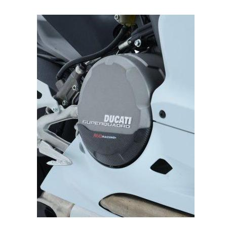 Slider moteur droit R&G RACING carbone