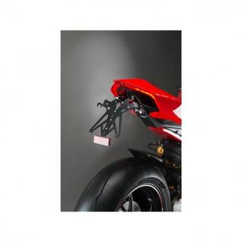 Support de plaque LIGHTECH réglable noir Ducati Panigale V4