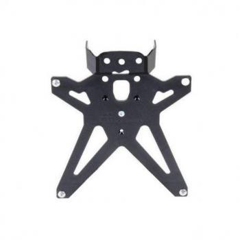 Support de plaque réglable LIGHTECH noir Honda CB1000R