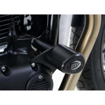 Tampons de protection R&G RACING Aero noir Triumph