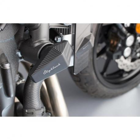 Tampon de protection LIGHTECH noir Yamaha XSR700 - STEYA115NER