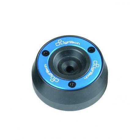 Protections fourche et bras oscillant (axe de roue) LIGHTECH Cobalt Ducati Diavel - ARDU101COB