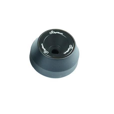 Protections fourche et bras oscillant (axe de roue) LIGHTECH noir Kawasaki ZX6R - ARKA105NER