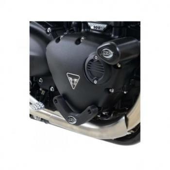 Slider moteur droit R&G RACING noir Triumph Bonneville T120