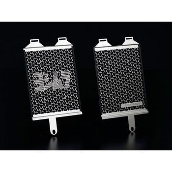 Protection de radiateur d'huile et collecteur YOSHIMURA inox BMW R 1200 RT/GS