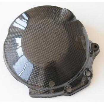 Couvre carter embrayage LIGHTECH carbone brillant Kawasaki Zx10R