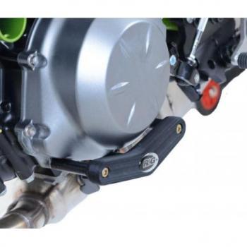 Slider moteur gauche R&G RACING noir Kawasaki Z650