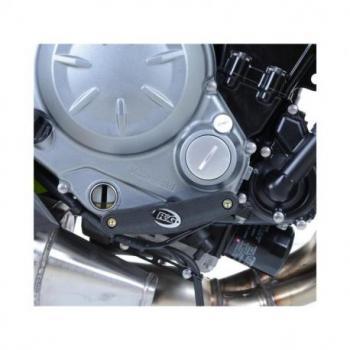 Slider moteur droit R&G RACING noir Kawasaki Z650