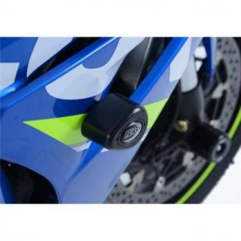 Tampons de protection R&G RACING Aero Race noir Suzuki GSX-R1000