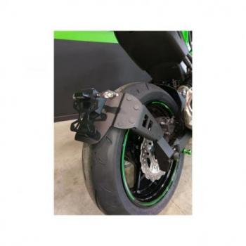 """Support de plaque ACCESS DESIGN """"ras de roue"""" noir Kawasaki Z900"""
